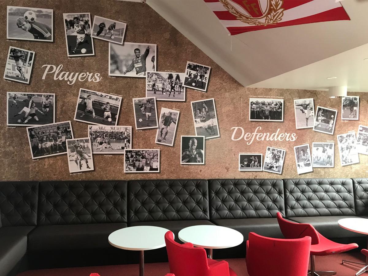 Kalmar FF vägg tapet