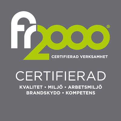 certifiering fr2000